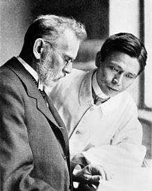 Paul Ehrlich e Sahachiro Hata
