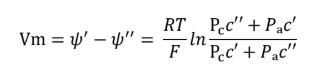 equazione di Goldman-Hodgkin-Katz
