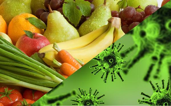 Frutta e verdura antiossidanti e COVID-19