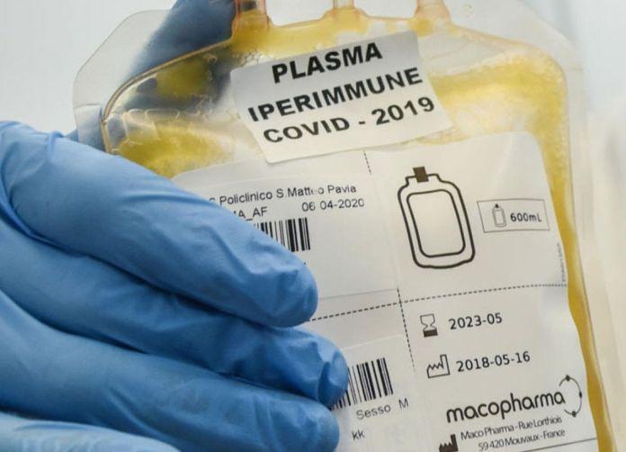 plasma iperimmunie covid19