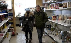 Figura 3 - Mitch Emhoff e la figlia adolescente