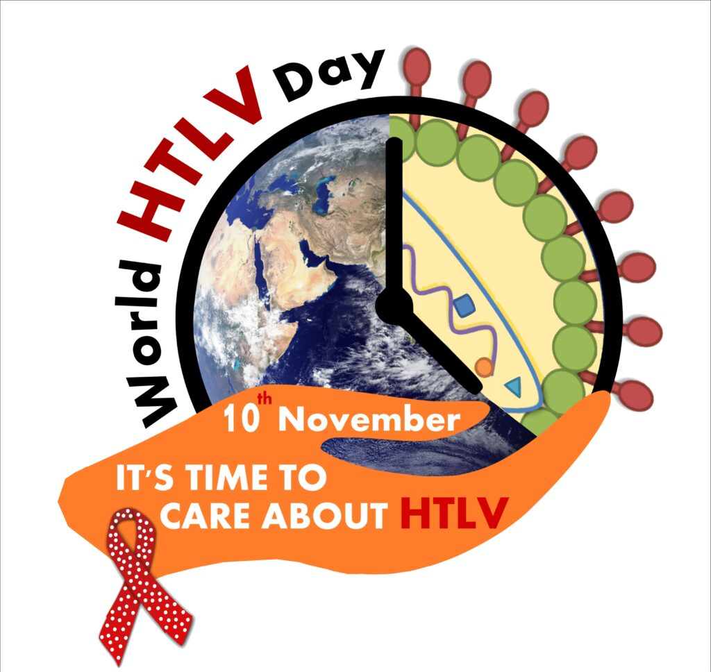 Logo per World HTLV Day