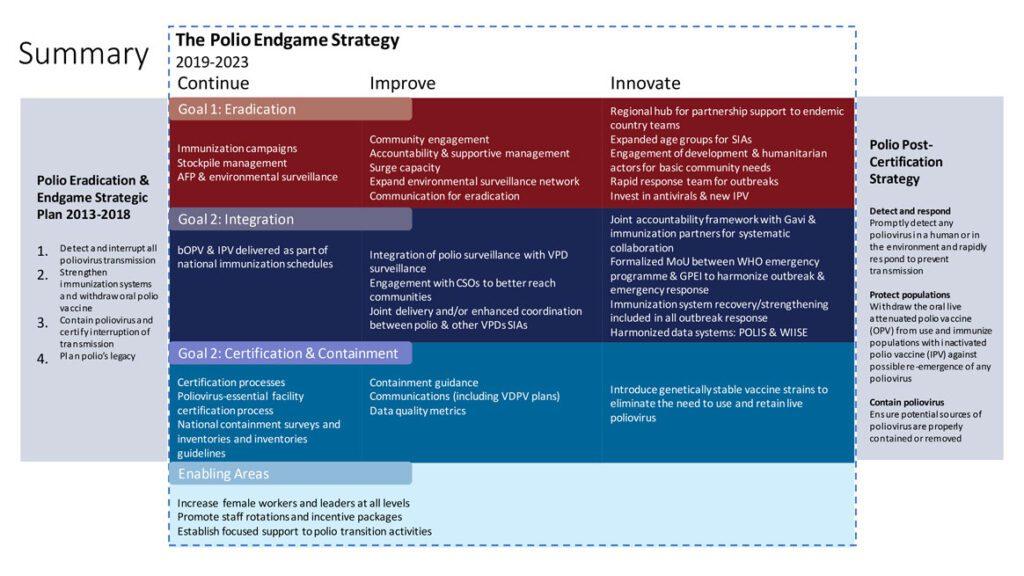 Figura 5- Polio endgame strategy 2019-2023.